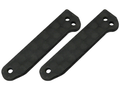 CNC CF Front Landing Gear Support Set (Spare Parts for 130X452 and 130X454) - Blade 130X