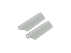 Plastic Tail Blade 29mm-Grey - Blade 130X
