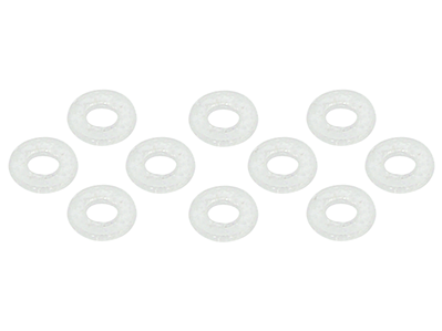 1.4x3.0x0.3mm Plastic Washer