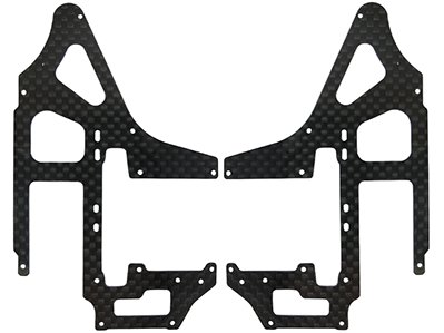Rakonheli CNC CF Side Frame Set (for 180CFX452)