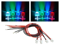 3mm LEDs (Blue, Green, Red, White) Combo - Blade 200 QX