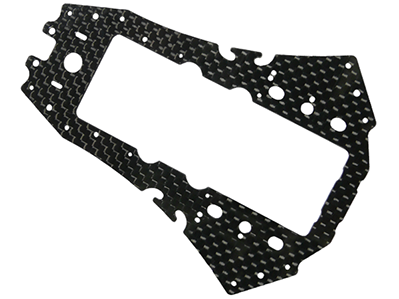 CNC CF Lower Frame - Blade 200 QX