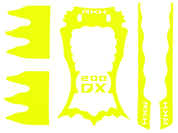 Sticker Skin for CNC Advanced Upgrade Kit - Blade 200 QX