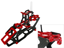 Rakonheli CNC AL and CF Main Frame Set - Blade 200SRX