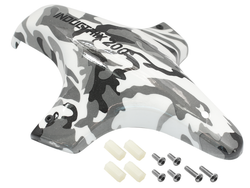 [Buy 1 Free 1] Hydrographics Fiberglass Canopy (Grey Camo) - Blade Inductrix 200