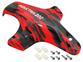 [Buy 1 Free 1] Hydrographics Fiberglass Canopy (Red Camo) - Blade Inductrix 200