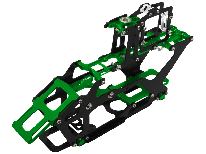 Rakonheli CNC AL and CF Main Frame Set - Blade 230 S/V2