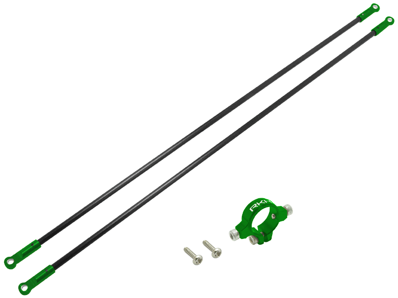 Rakonheli CNC AL Tail Boom Support Set - Blade 230 S/V2