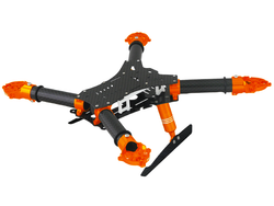 RKH 250 Quad-X CNC Kit 02 (Orange)
