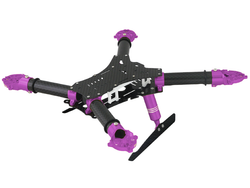 RKH 250 Quad-X CNC Kit 02 (Purple)