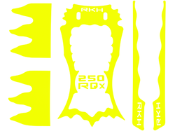 Sticker Skin for RKH 250 Quad-X CNC Kit