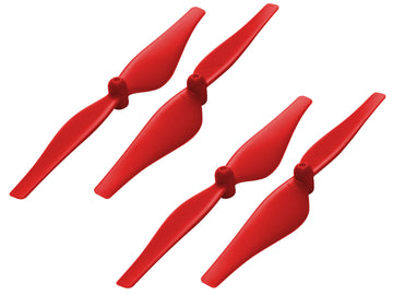 76mm Propeller (2CW+2CCW; 1.0mm Shaft) (Red) - DJI Tello