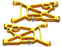 Rakonheli CNC Aluminum Front Suspension Arm Set - LOSI 1/14 Mini 8IGHT-DB 4WD