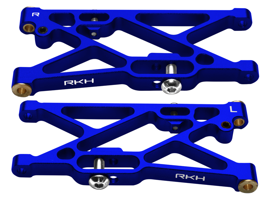 Rakonheli CNC Aluminum Rear Suspension Arm Set - LOSI 1/14 Mini 8IGHT-DB 4WD