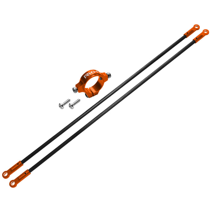 Blade 150 S - Rakonheli CNC Aluminum Carbon Tail Boom Support Set