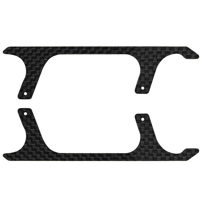 Rakonheli CNC Carbon Fiber w/Decal Landing Skid Set