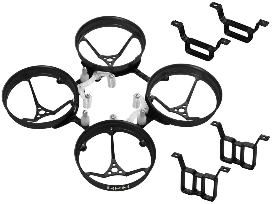 Rakonheli 1S, 2S AL Carbon 66mm Brushless Whoop Kit (for 0603, 0703 Motor)