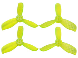Rakonheli 2025 3 Blade Transparent Propeller (2CW+2CCW; 1.5mm Shaft)