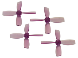 Rakonheli 2222 4 Blade Transparent Propeller (2CW+2CCW; 1.5mm Shaft) - Blade Torrent 110 FPV