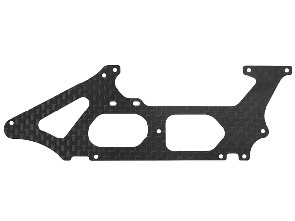 Rakonheli CNC 3K Pure Carbon Fiber Lower Side Frame (1) (for 130S452)