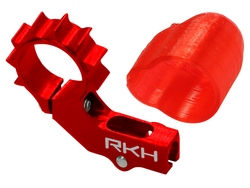 Rakonheli CNC AL 6mm Tail Motor Mount Set (for 2mm Tail Boom) - Blade mSR X/S, mCP X/V2/S, Nano CPX/CPS/S2