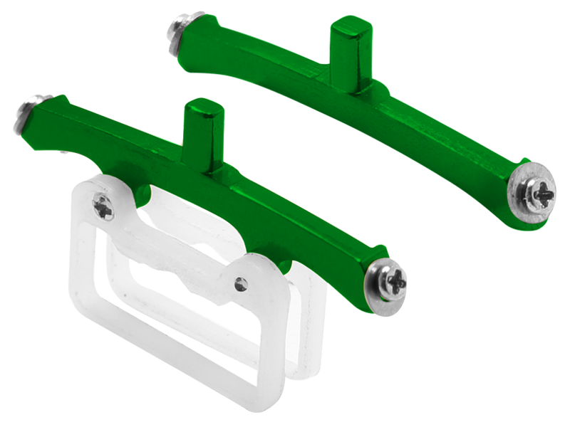 Rakonheli CNC AL Landing Gear Base Set (for mSRS737)