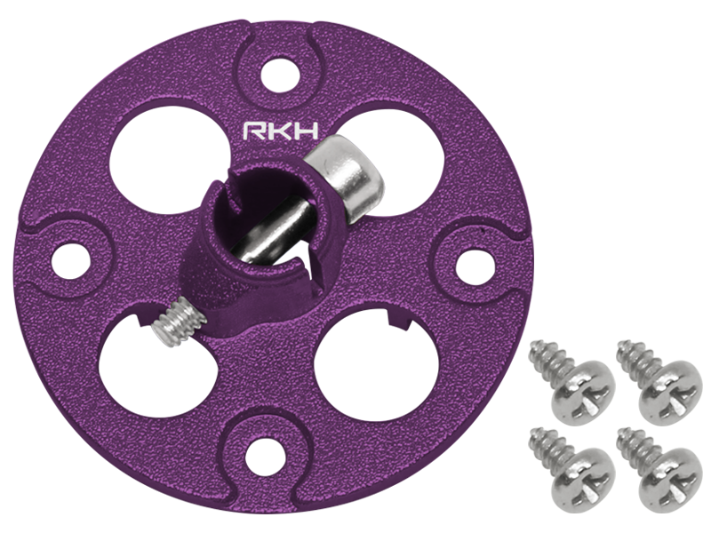 Rakonheli CNC AL Main Gear Hub Set (for 130S303)
