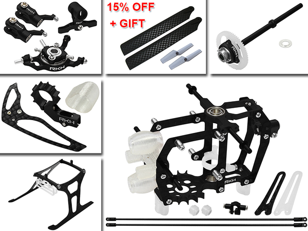 Rakonheli CNC Advanced Upgrade Kit - Blade mCP S