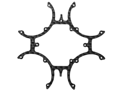 Rakonheli CNC 3K Pure Carbon Fiber Main Frame (for 6064DQX980)