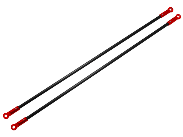 Rakonheli CNC AL Tail Boom Support Rod (2) (for 200S812)