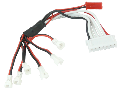 Charging Cable for 6pcs BLADE Nano CP S/QX/Inductrix Battery