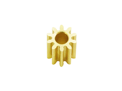 Brass Pinion 10T 0.4M/2.0 Bore
