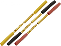 2.0mm Gold Connectors (3 Male & 3 Female)