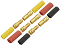 3.5mm Gold Connectors (3 Male & 3 Female)