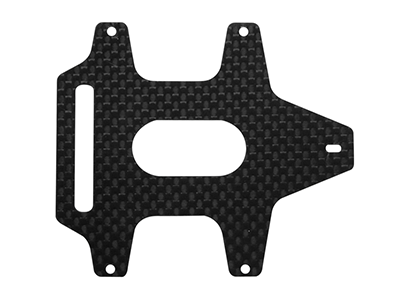 CNC 3K Pure Carbon Fiber Battery Mount - Blade Chroma