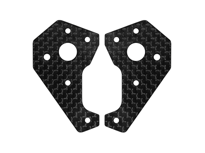 CNC 3K Pure Carbon Fiber Landing Gear Base - Blade Chroma