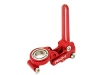 CNC Upper Main Shaft Bearing Block Set V2 (Red) - Blade 120SR