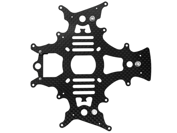 Rakonheli CNC 3K Pure Carbon Fiber Main Frame Set (for 20IDT981, 982)