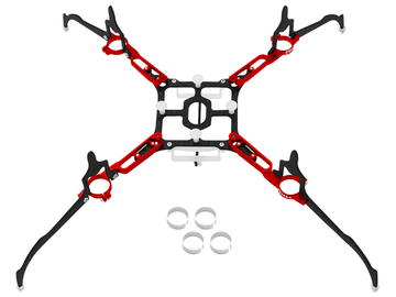 Rakonheli CNC AL and CF Upgrade Kit - Blade Nano QX2/Glimpse