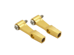 CNC AL DFC Linkage Set (Gold) - Blade 130X