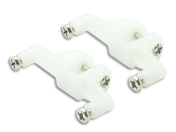 [Clearance] CNC Delrin Tail Servo Mount Set - Blade 130X