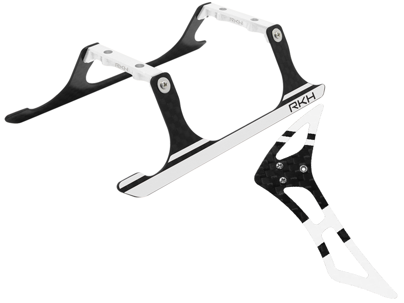 Blade 120 S, 120 S2 - Rakonheli CNC Landing Gear and Tail Fin Combo