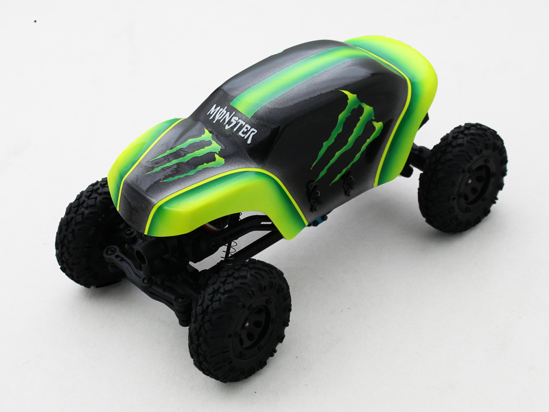 [Buy 1 Free 1] Fiberglass Canopy Set-Monster 02 - ECX 1/24 Temper Crawler
