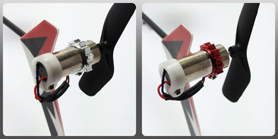 CNC Delrin 6mm Tail Motor Protection - Blade mCP X/mSR/mSR X/Nano CPX