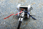 CNC Delrin Twin 7mm Tail Motor Mount - Blade mCP X