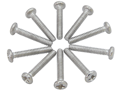 M1.6x10mm Pan Head Screws