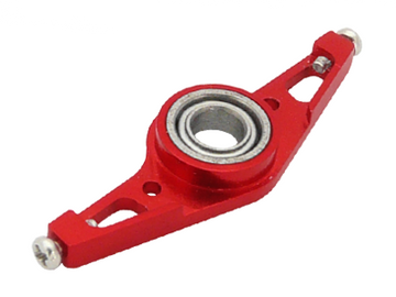 CNC Lower Main Shaft Bearing Block Set V2 (Red) - Blade mCP X