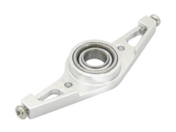 CNC Lower Main Shaft Bearing Block Set V2 (Silver) - Blade mCP X