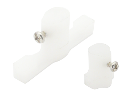 CNC Delrin Landing Gear Holder Set V2 - Blade mCP X/V2