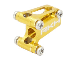 CNC 2mm Tail Boom Mount (Gold) - Blade mCP X/V2